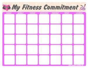 1000+ ideas about Workout Calendar Printable on Pinterest