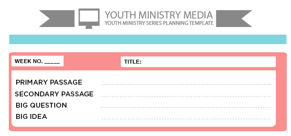 Freebie Friday: Preaching Templates Youth Ministry Media