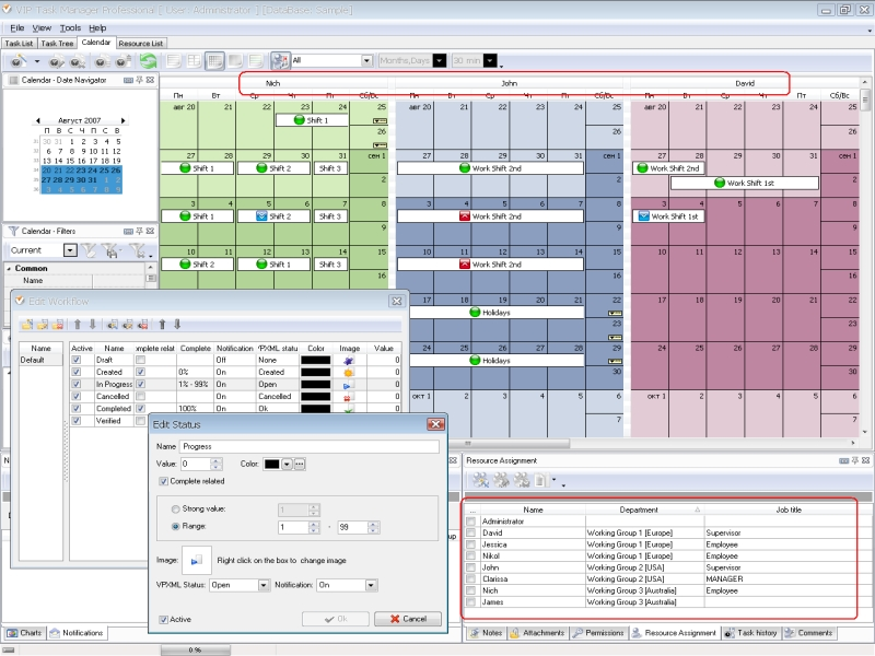 Free project management calendar template home budget for Project deliverables template excel
