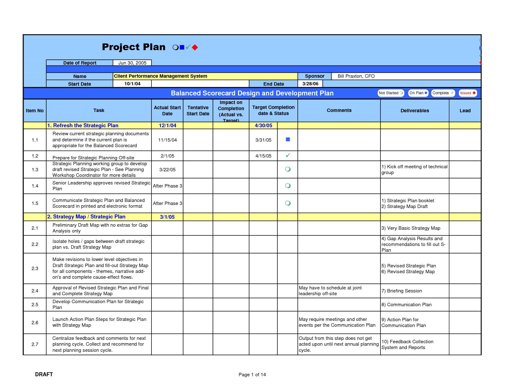 Free Project Management Calendar Template. home budget worksheet