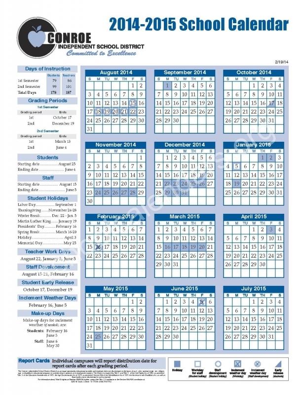 Ysleta Isd 2016 Calendar : Free Calendar Template