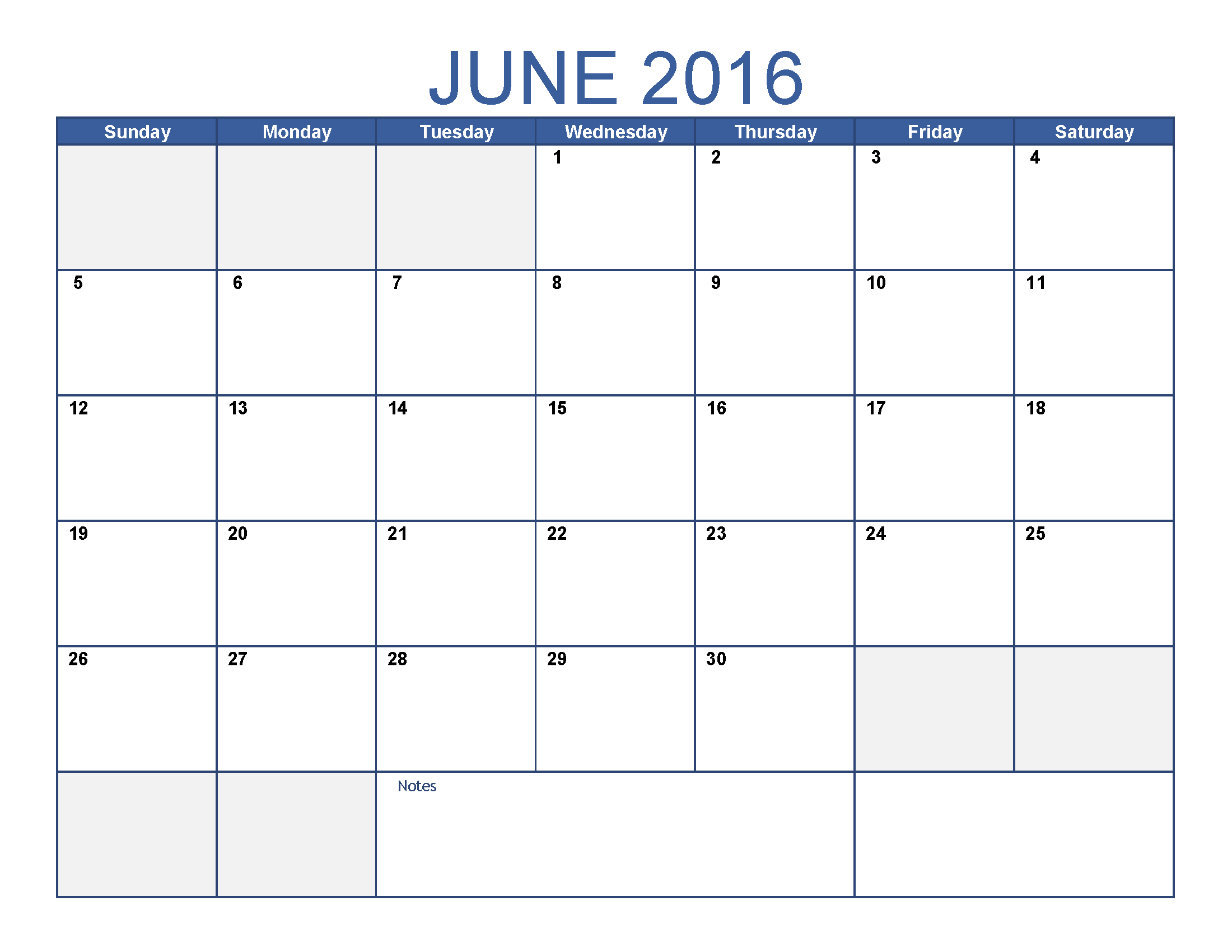 Calendar: Writable Calendar Template