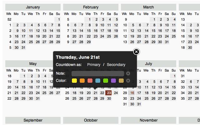 Free Printable Retirement Calendar : Free Calendar Template