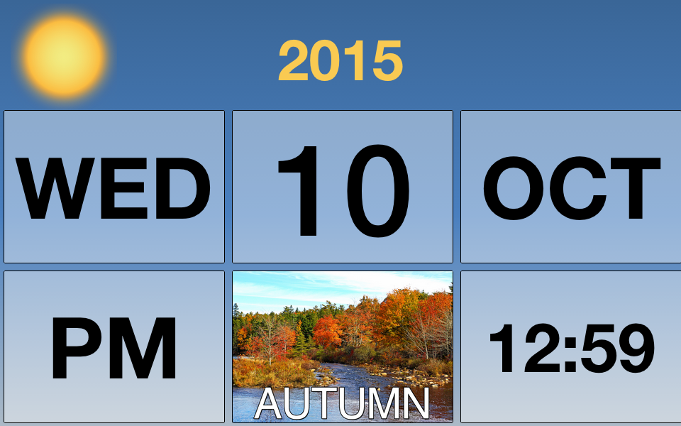 Dementia Clock Calendar