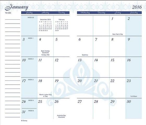Pocket Calendar 2016 Printable   Calendar Picture Templates