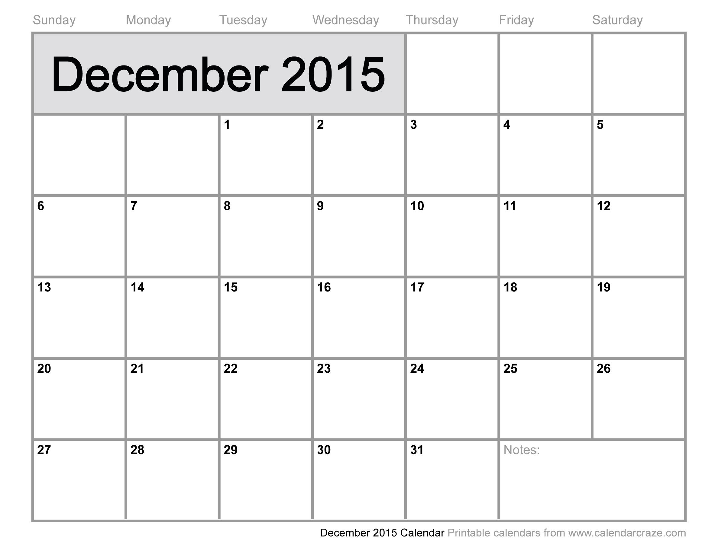 December 2015 Activity Calendar | Babcock Community Care Centre
