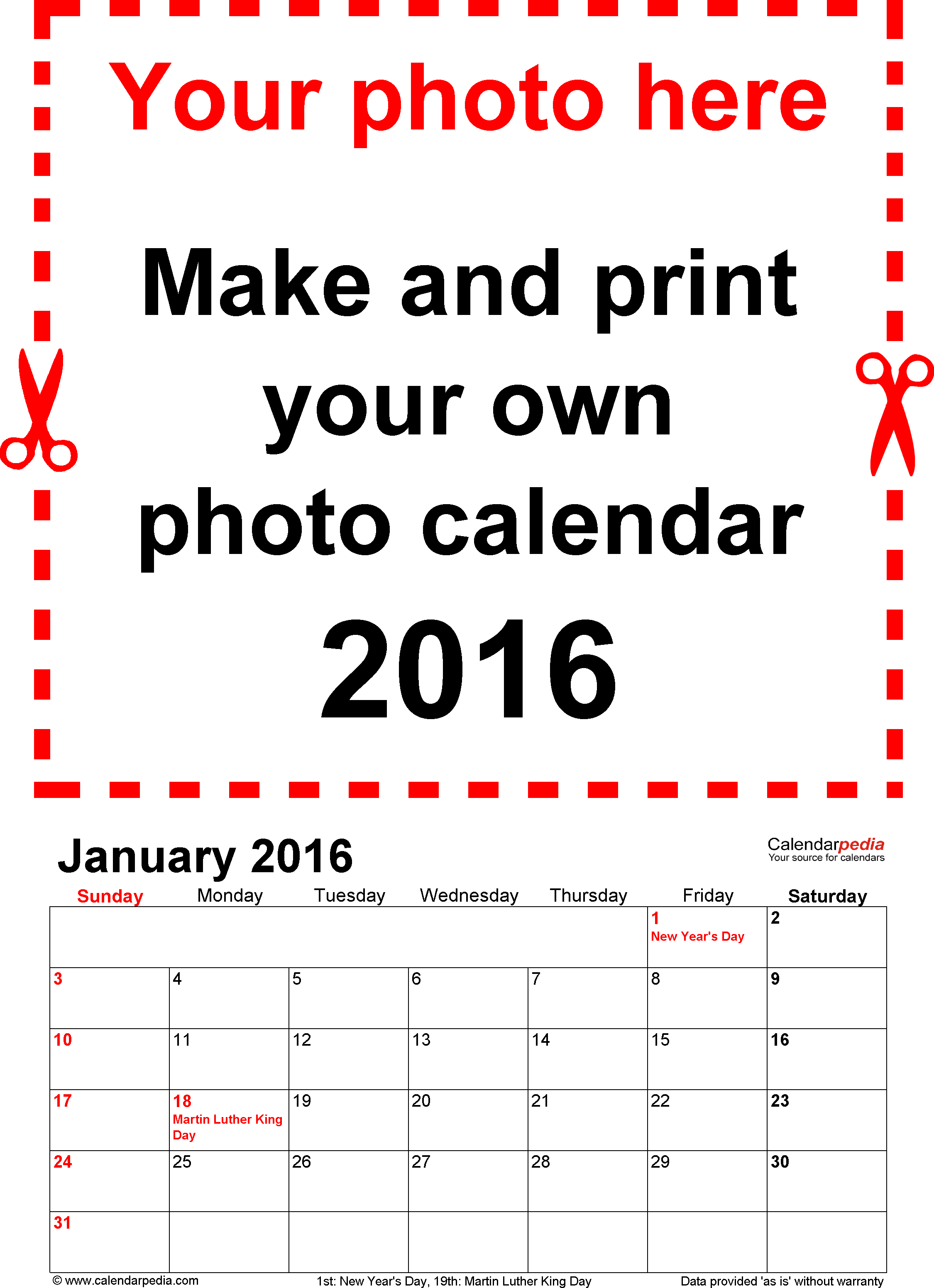 customizable-2016-calendar-template-for-word-photo-calendar-2016 ...