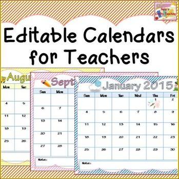 Calendars 2016 2017 | Schools, Teaching and Calendar