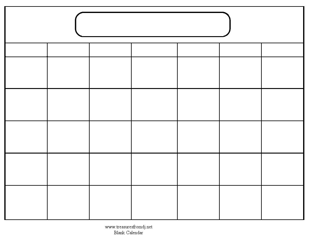 Download Giant Calendar Template : Free Calendar Template