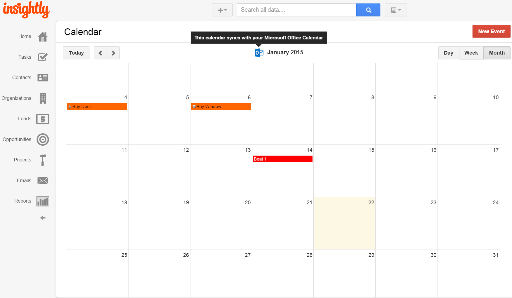 New Year, New Insightly Calendar Sync for Google and Microsoft