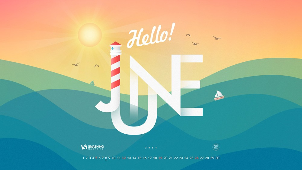 June 2016 Calendar Win   Calendar Template 2017