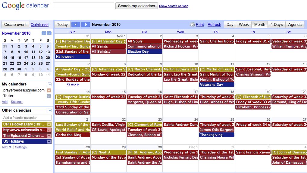 Blank Liturgical Calendar : Lutheran liturgical calendar printable