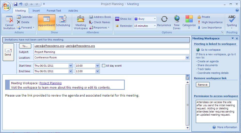 Outlook Invitation Template | ctsfashion.com