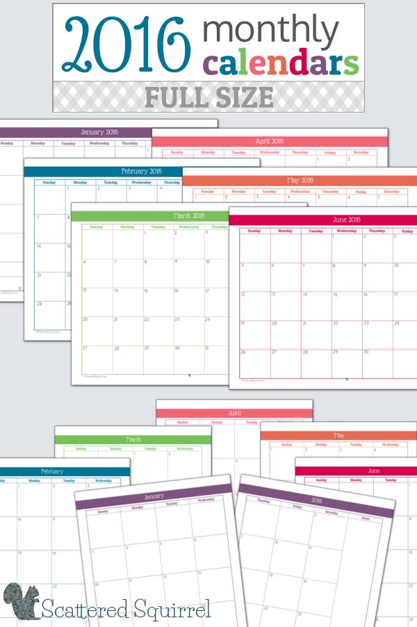 Calendar Planner C : Planner calendar printable template