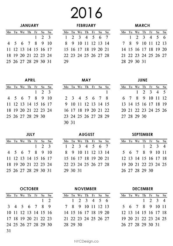 calendar to print free Calendar