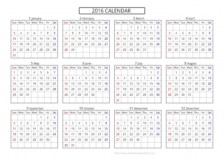 Printable Short Timers Calendar : Free Calendar Template