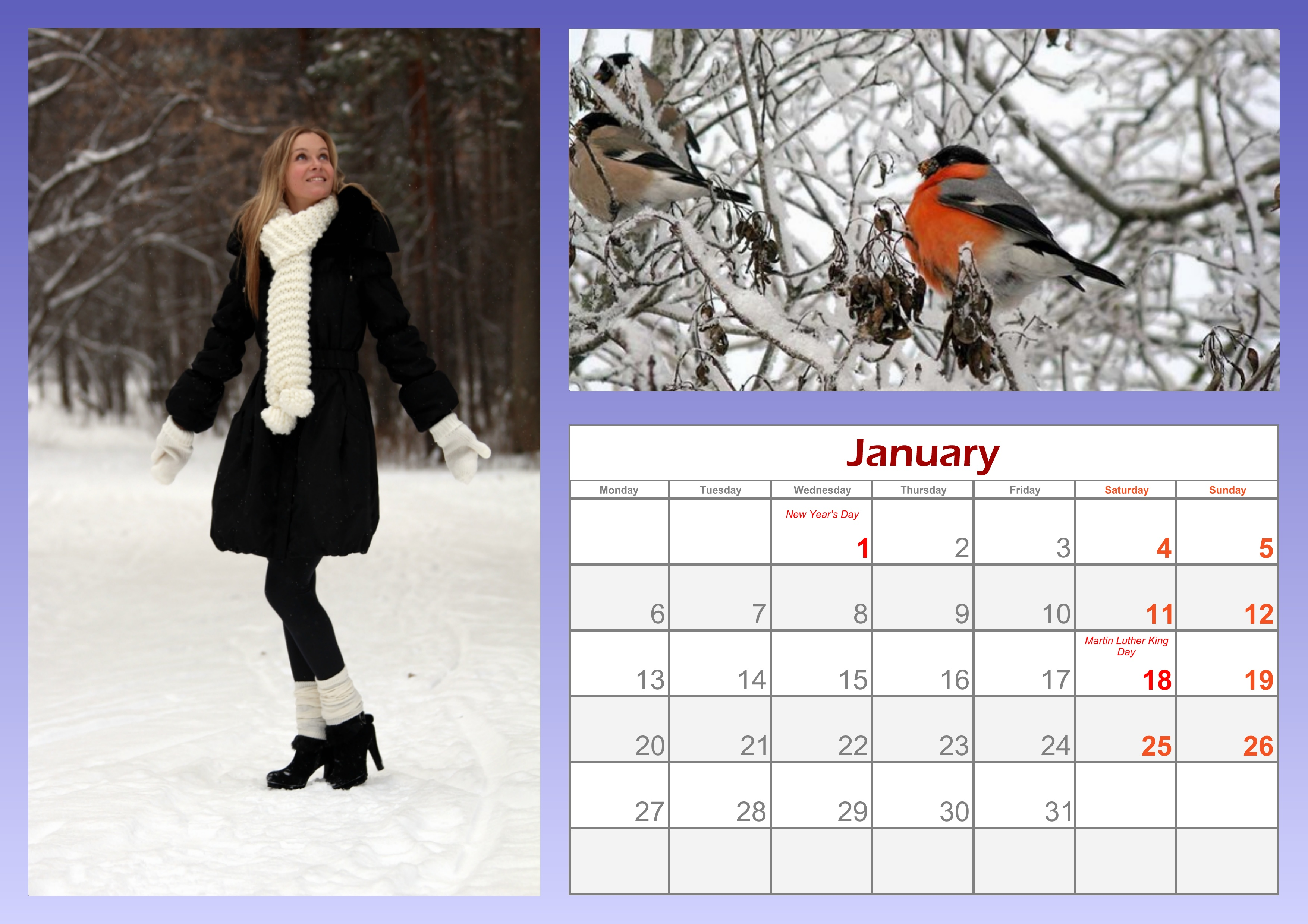 Sample Of Calendar Design : Samples of calendar design template