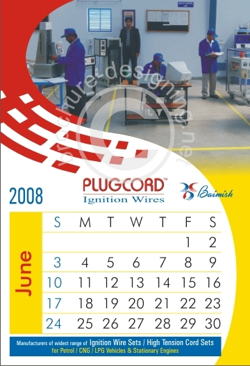 Corporate Wall Calendar Design Sample : Samples of calendar design template