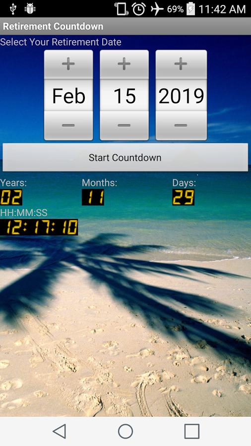 short timer calendar retirement teacher