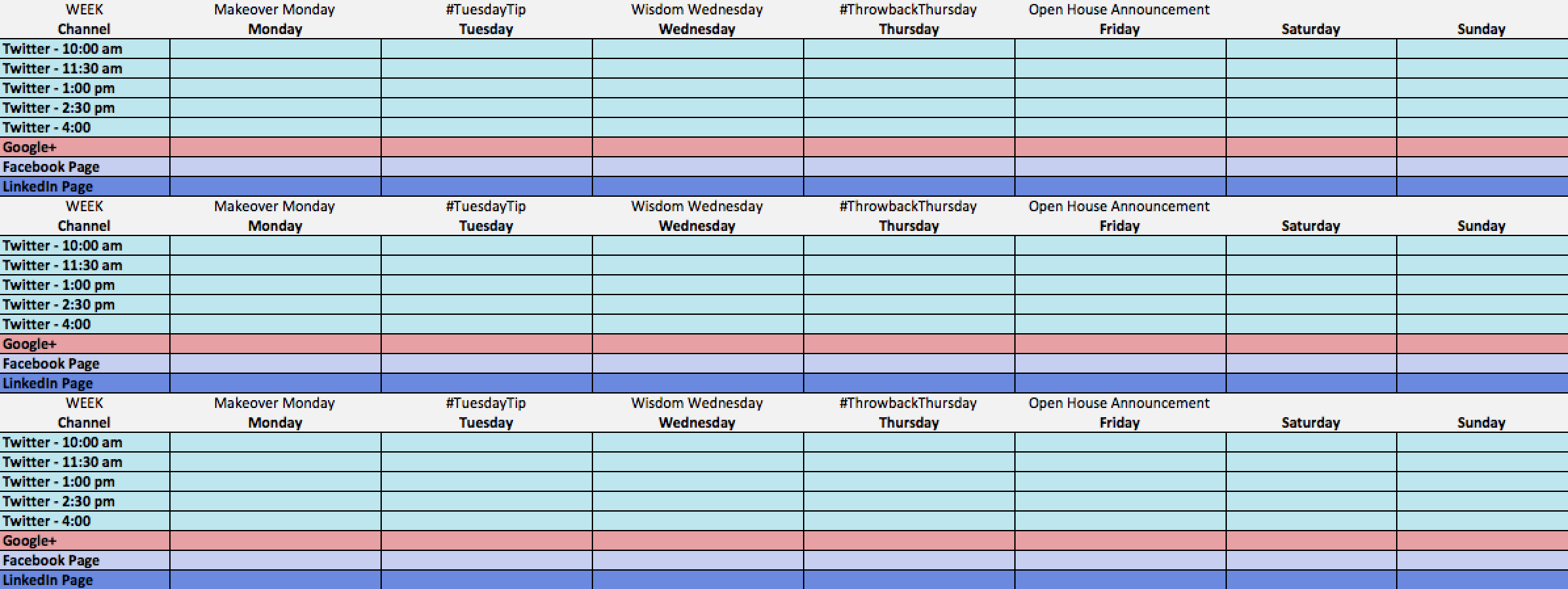 Social Media Content Calendar [+ Free Template] | Vivial