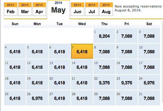 Southwest Airlines Low Fares Calendar Academic Calendar