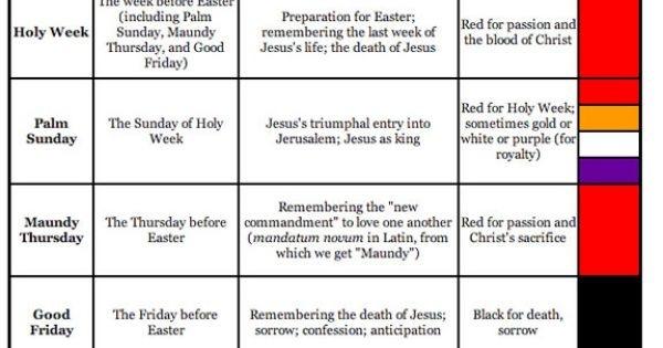 Free United Methodist Liturgical Calendar | : Weekly Worship