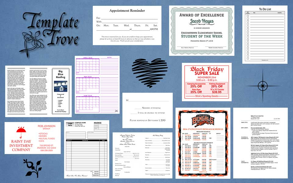 2014 Calendar Template Trove | Columbia College Academic Calendar