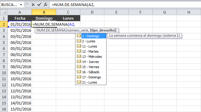 Calendario 2016 en Excel Excel Total