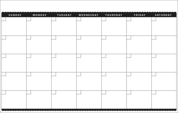 Printable Calendar 11×17 – printable calendar 2017