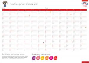 Free 2015 2016 Australian Financial Year Calendar | Kwik Kopy