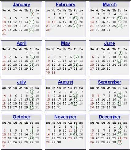 Printable 2016 Payroll Calendar | Calendar Template 2019