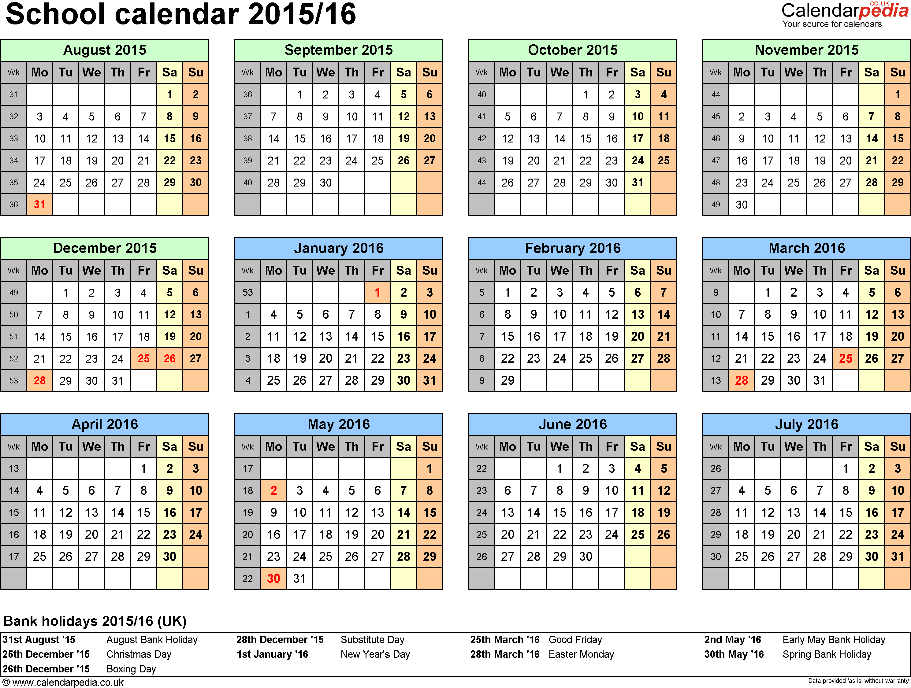 Calendar Nsw : Printable calendar template nsw