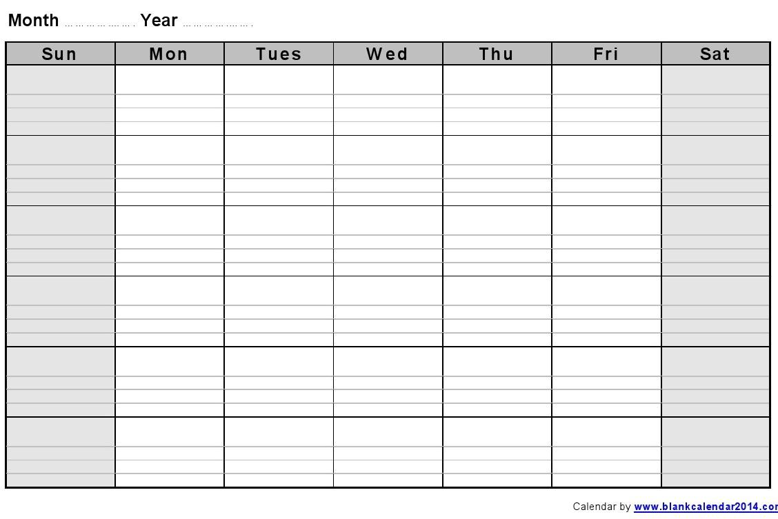 one week calendar template excel printable weekly calendar template