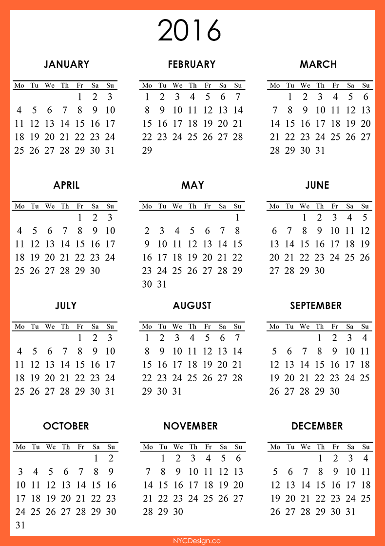 December 2016 Calendar Printable One Page – 2017 printable calendar