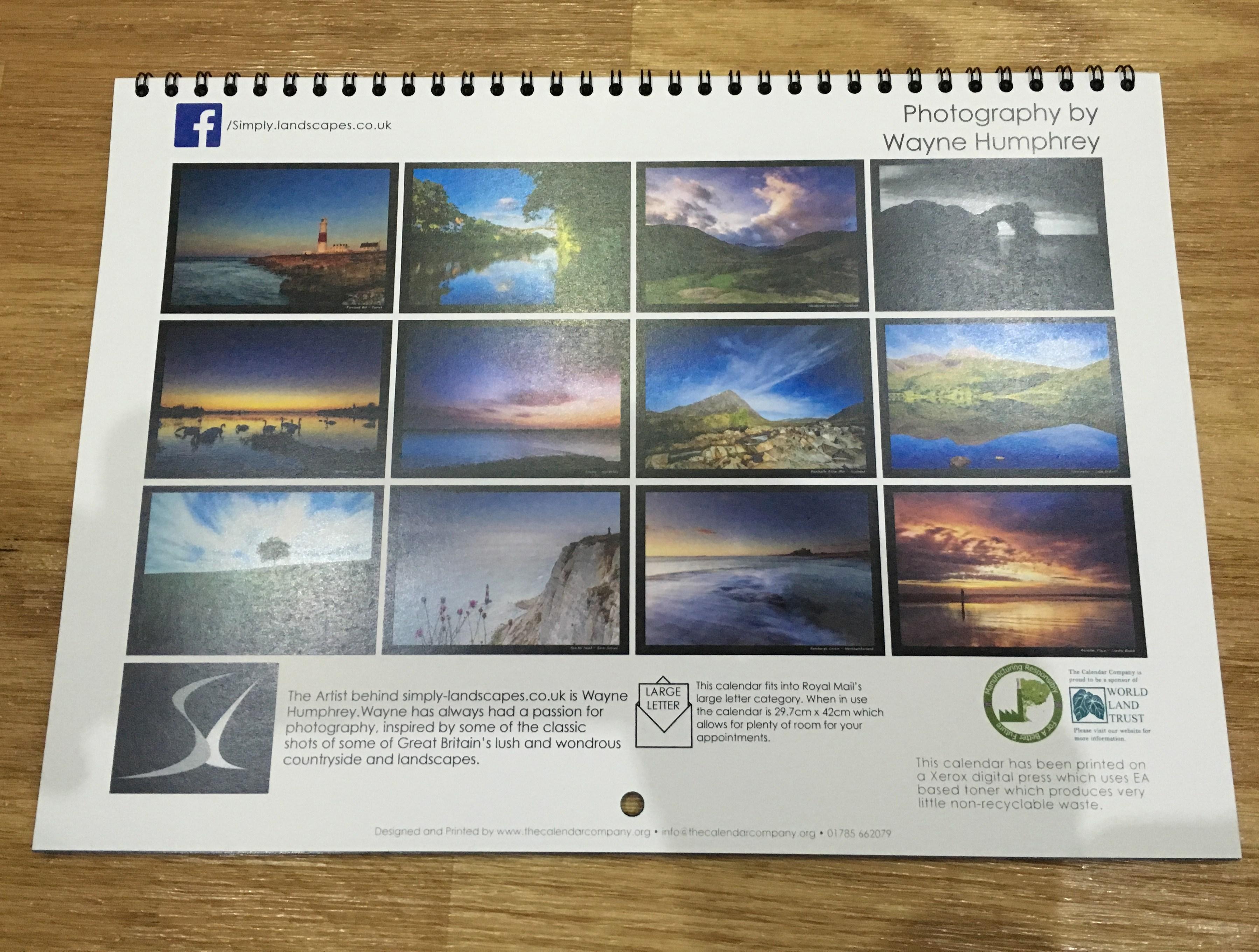 2016 British Landscapes Calendar Simply Landscapes