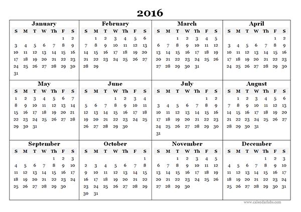 July 2016 Printable calendar | Printable Calendar Templates