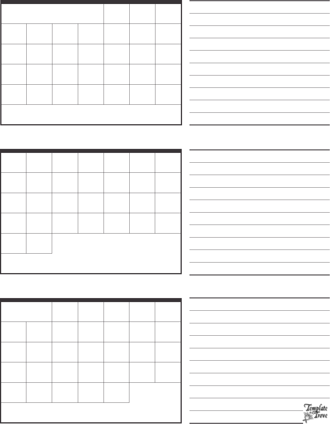 2016 Calendar Templates Download 2016 monthly & yearly templates