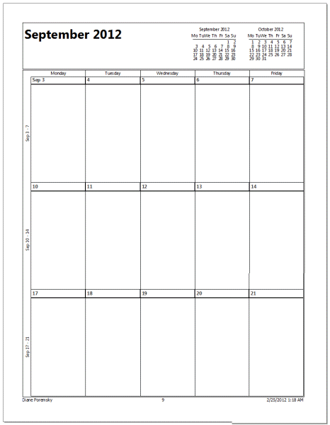 Special Discount on Dry Erase Fridge Calendars for Readers of One