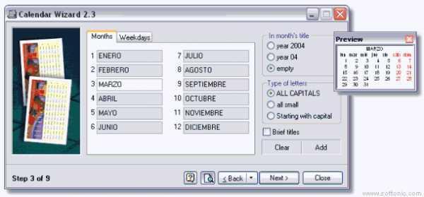 Calendar Wizard Download