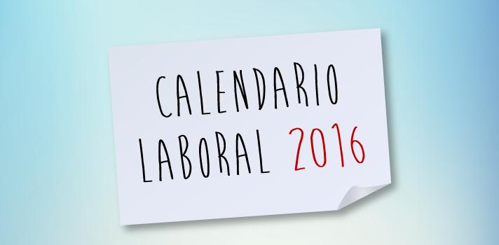 Infografía: conoce todos los festivos del calendario laboral 2016