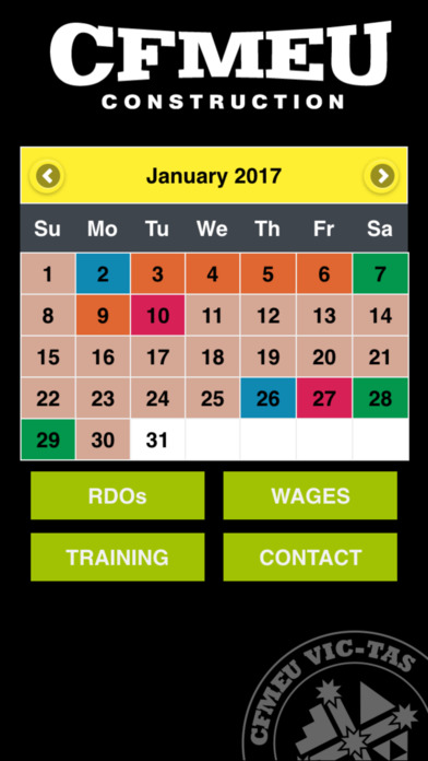 CFMEU RDO Wages and Training on the App Store