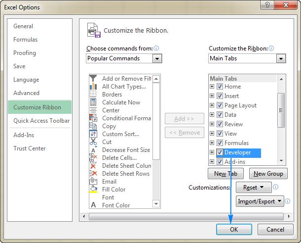 Dropdown calendar in Excel | wmfexcel