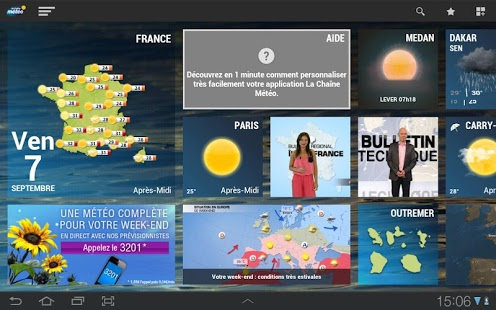 La chaine météo pour tablette Android Apps on Google Play