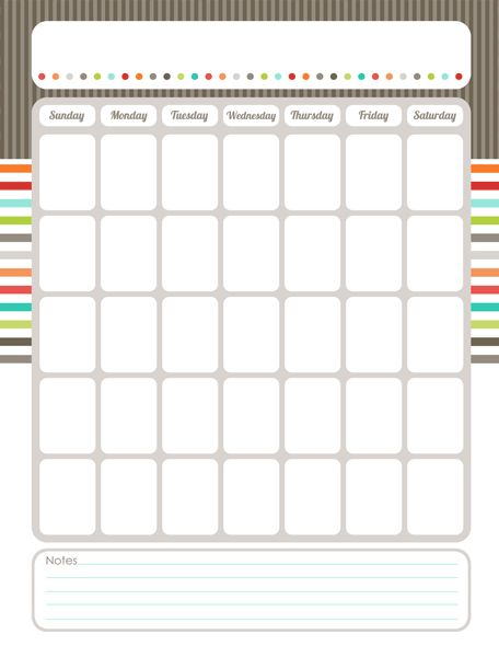 25+ best ideas about Blank Calendar on Pinterest | Free blank