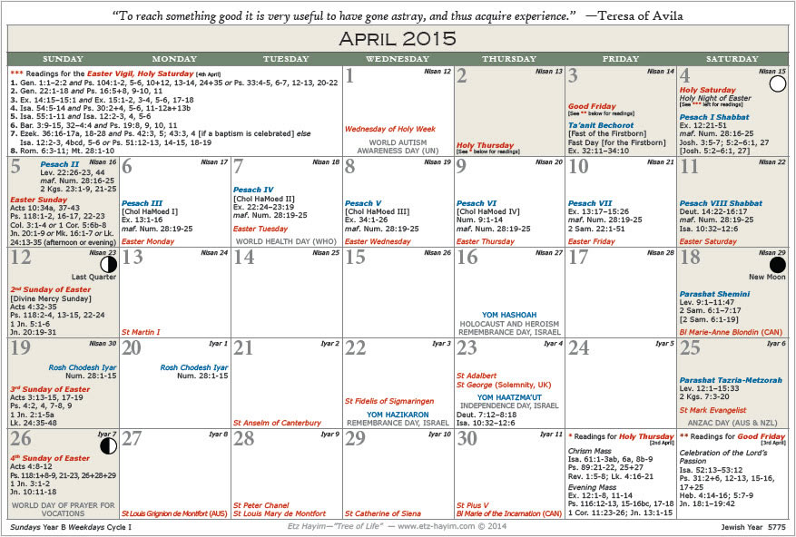 Jewish Weekly Calendar : Printable hebrew calendar template