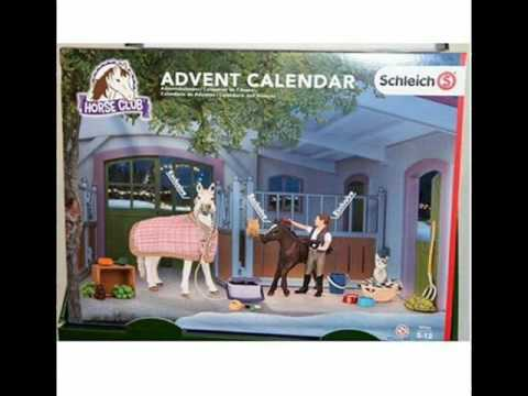 Schleich Advent Calendar 2016. YouTube
