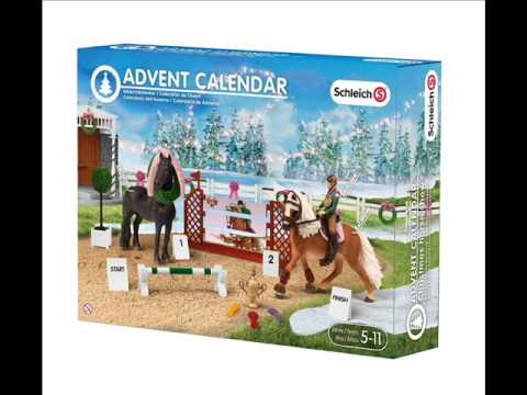 Schleich ☆ Advent Calendar 2015☆. YouTube