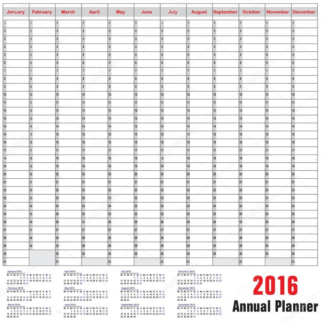 2016 tabella calendario agosto — Vettoriali Stock © dolphfynlow