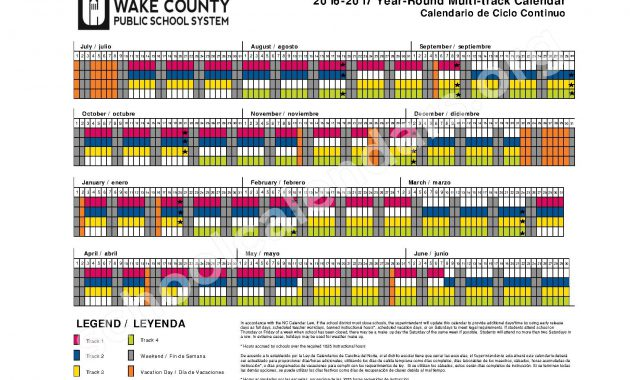 county schools calendar 2015 calendar printable wake