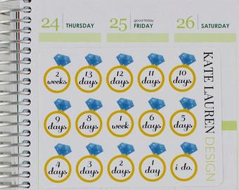 Wedding Countdown Calendar Printable Calendar Template 2017